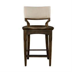 Stanley Furniture Santa Clara Counter Stool in Burnished Walnut