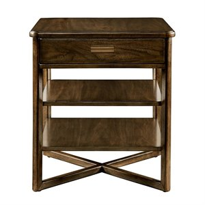 Stanley Furniture Santa Clara End Table in Burnished Walnut