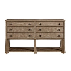 Stanley Furniture Wethersfield Estate Media Console in Brimfield Oak