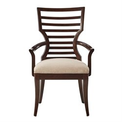 Stanley Furniture Virage Arm Chair in Truffle