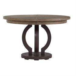 Stanley Furniture Virage Round Dining Table in Basalt