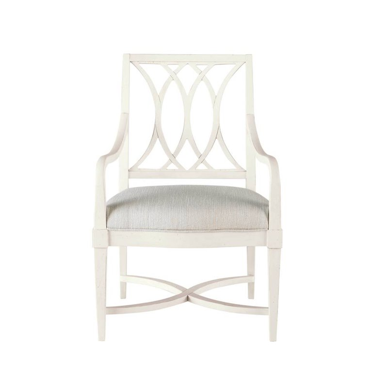 Coastal Living Resort Heritage Coast Arm Chair In Nautical White