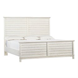 Coastal Living Resort Cape Comber Platform Bed Queen in Nautical White