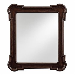 Stanley Furniture European Farmhouse Fluted Edge Mirror in Terrain