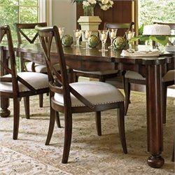 Stanley Furniture European Farmhouse Guest Dining Chair in Terrain