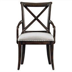 Stanley Furniture European Farmhouse Host Chair in Terrain
