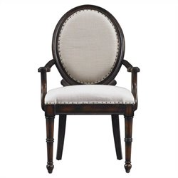 Stanley Furniture European Farmhouse MillionStars HostDining Chair in Terrain