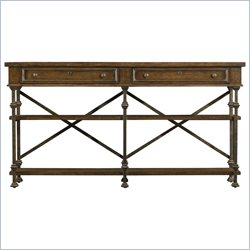 Stanley Furniture European Farmhouse Belgian Cross Huntboard in Blond