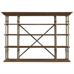 Stanley Furniture European Farmhouse L'Acrobat Open Air Shelf in Blond