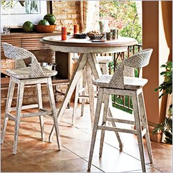 Stanley Furniture Archipelago Antilles Table in Blanquilla