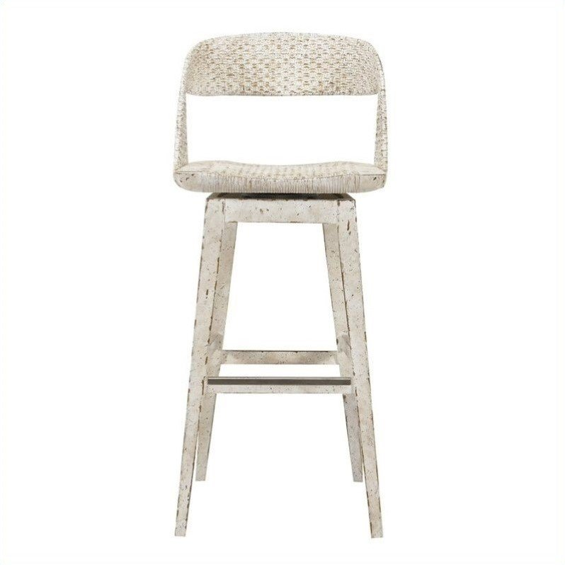 Stanley Furniture Archipelago Tambu Bar Stool in Blanquilla