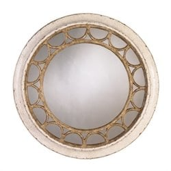 Stanley Furniture Archipelago Moor Island Ring Mirror in Blanquilla