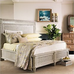 Stanley Furniture Archipelago Nevis Woven Bed in Blanquilla - Queen