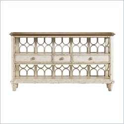 Stanley Furniture Archipelago Antilles Console Table in Blanquilla