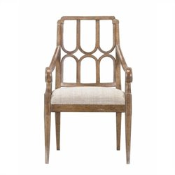 Stanley Furniture Archipelago Port Royal Arm Dining Chair in Shoal