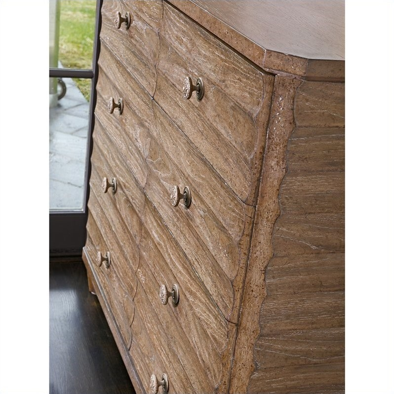 Stanley Furniture Archipelago Ripple Cay Dressing Chest in Blanquilla