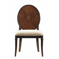 Stanley Furniture Avalon Heights Starburst Side Chair in Chelsea