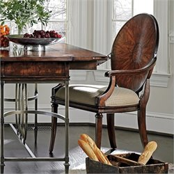 Stanley Furniture Avalon Heights Starburst Arm Dining Chair in Chelsea