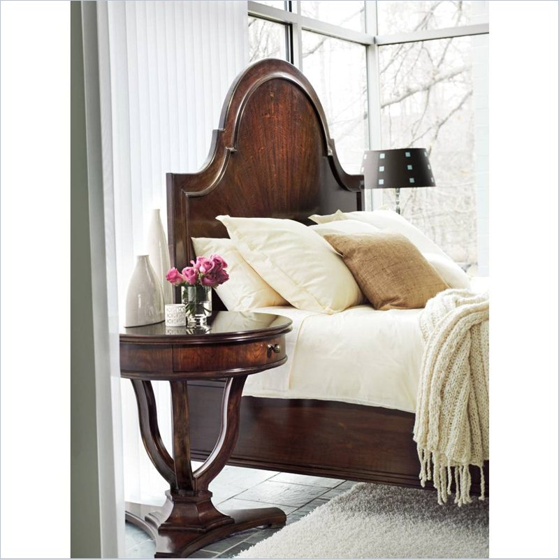 Stanley Furniture Avalon Heights Queen Panel Bed in Chelsea