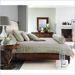 Stanley Furniture Avalon Heights Queen Upholstered Storage Bed in Chelsea