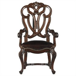 Stanley Furniture Costa Del Sol Messalinas Blessings Arm Dining Chair in Cordova