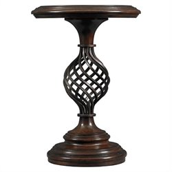 Stanley Costa Del Sol Gaiola Fortuna Pedestal Table in Cordova