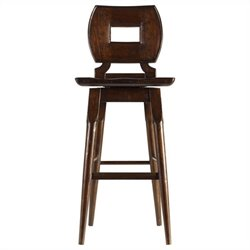 Stanley Furniture Artisan Wood Bar Stool