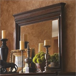 Stanley Furniture Louis Philippe Landscape Mirror