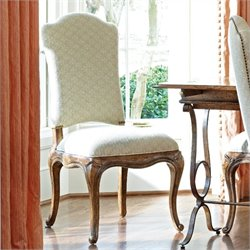 Stanley Furniture Arrondissement Volute Side Chair in Heirloom Cherry