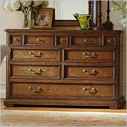 Stanley Furniture Arrondissement Grand Rue Dresser in Heirloom Cherry