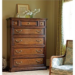 Stanley Furniture Arrondissement Grand Rue 5 Drawer Chest in Heirloom Cherry
