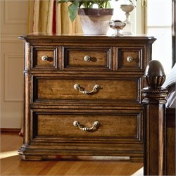 Stanley Furniture Arrondissement Grand Rue Bachelors Chest in Heirloom Cherry