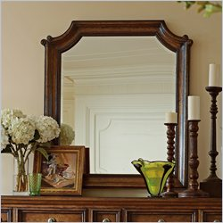 Stanley Furniture Arrondissement Musee Mirror in Heirloom Cherry