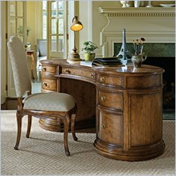 Stanley Furniture Arrondissement Ecole Desk in Heirloom Cherry