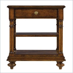 Stanley Furniture Arrondissement Vivant Side Table in Heirloom Cherry