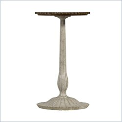 Stanley Furniture Arrondissement Cathedrale Martini End Table in Vintage Neutral