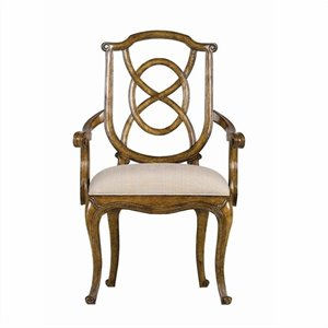Stanley Arrondissement Tuileries Arm Dining Chair in Heirloom Cherry