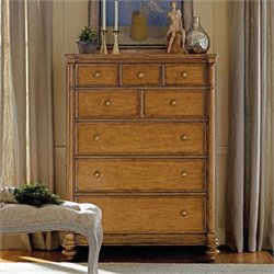 Stanley Furniture Arrondissement Belle Mode Drawer Chest in Sunlight Anigre