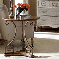 Stanley Furniture Arrondissement Clef Lamp Table in Sunlight Anigre