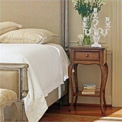 Stanley Furniture Arrondissement Arche Night Stand in Sunlight Anigre