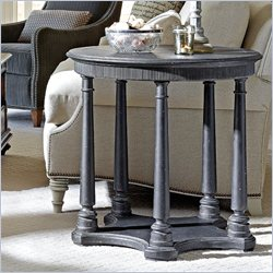 Stanley Furniture Arrondissement Tour Marais Hall Table in Rustic Charcoal