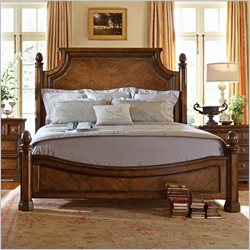 Stanley Furniture Arrondissement Reverie Panel Bed in Heirloom Cherry - Queen