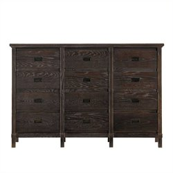 Stanley Furniture Coastal Living Resort Havens Harbor Triple Dresser in Channel Marker