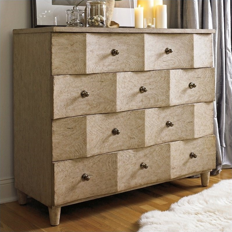 Stanley Furniture Coastal Living Resort Ocean Breakers Triple Dresser in Sandy Linen