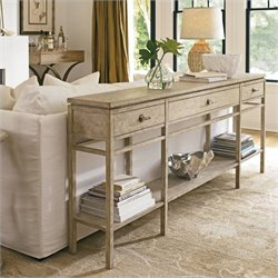 Stanley Furniture Coastal Living Resort Palisades Sofa Table in Sandy Linen
