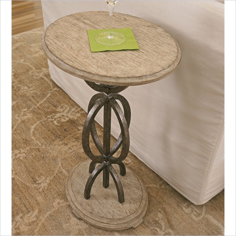 Stanley Furniture Coastal Living Resort Sol Playa Martini Table in Sandy Linen