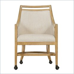 Stanley Furniture Coastal Living Resort Dock Hideaway Club Dining Chair in Sea Oat