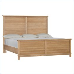 Stanley Furniture Coastal Living Resort Cape Comber Panel Bed in Sea Oat - Queen