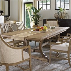 Stanley Furniture Coastal Living Resort Shelter Bay Dining Table in Weathered Pier