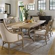 Stanley Furniture Coastal Living Resort By The Bay Host Arm Dining Chair in Weathered Pier